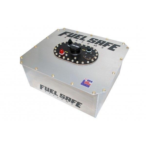 FuelSafe Zbiornik Paliwa 85L FIA z obudową stalową Typ 2 - GRUBYGARAGE - Sklep Tuningowy